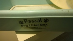 Little rascal dog litter box as seen on Dragons den