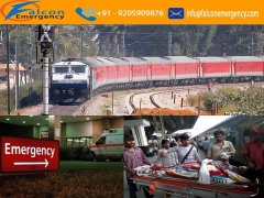 Falcon Emergency Train Ambulance Service in Bangalore at the Cheapest Cost